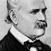 Black and White Portrait of Dr. Ignaz Semmelweis