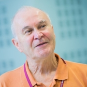 Portrait of Peter Taylor, Professor of Microbiology University College London