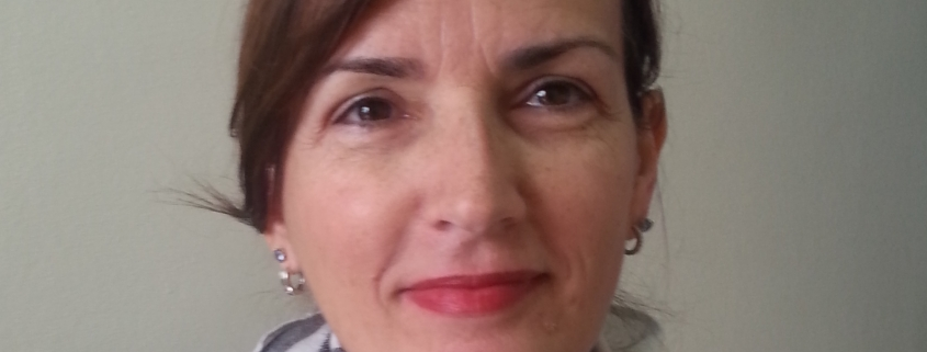 Portrait of Dr. Biljana Carevic, hospital epidemiologist at clinical center of Serbia
