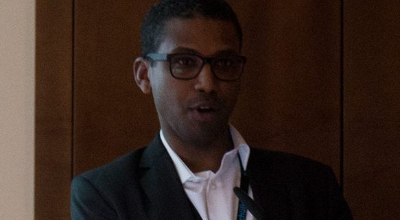 Portrait of Mohamed Abbas, University of Geneva Hospitals, Senior Research Associate in the Infection Control Programme