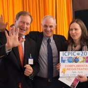 Picture of Bernhard Küenburg, Didier Pittet and Àgnes Hajdu on the ICPIC Conference 2017