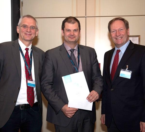 From left: Franz Allerberger, Wolfgang Prammer, Bernhard Küenburg – First CEE Conference on Hospital Hygiene and Patient Safety 2015